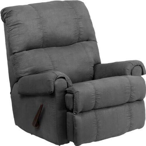 Etonnant  Flash Furniture Soft Suede Microfiber Rocker Recliner