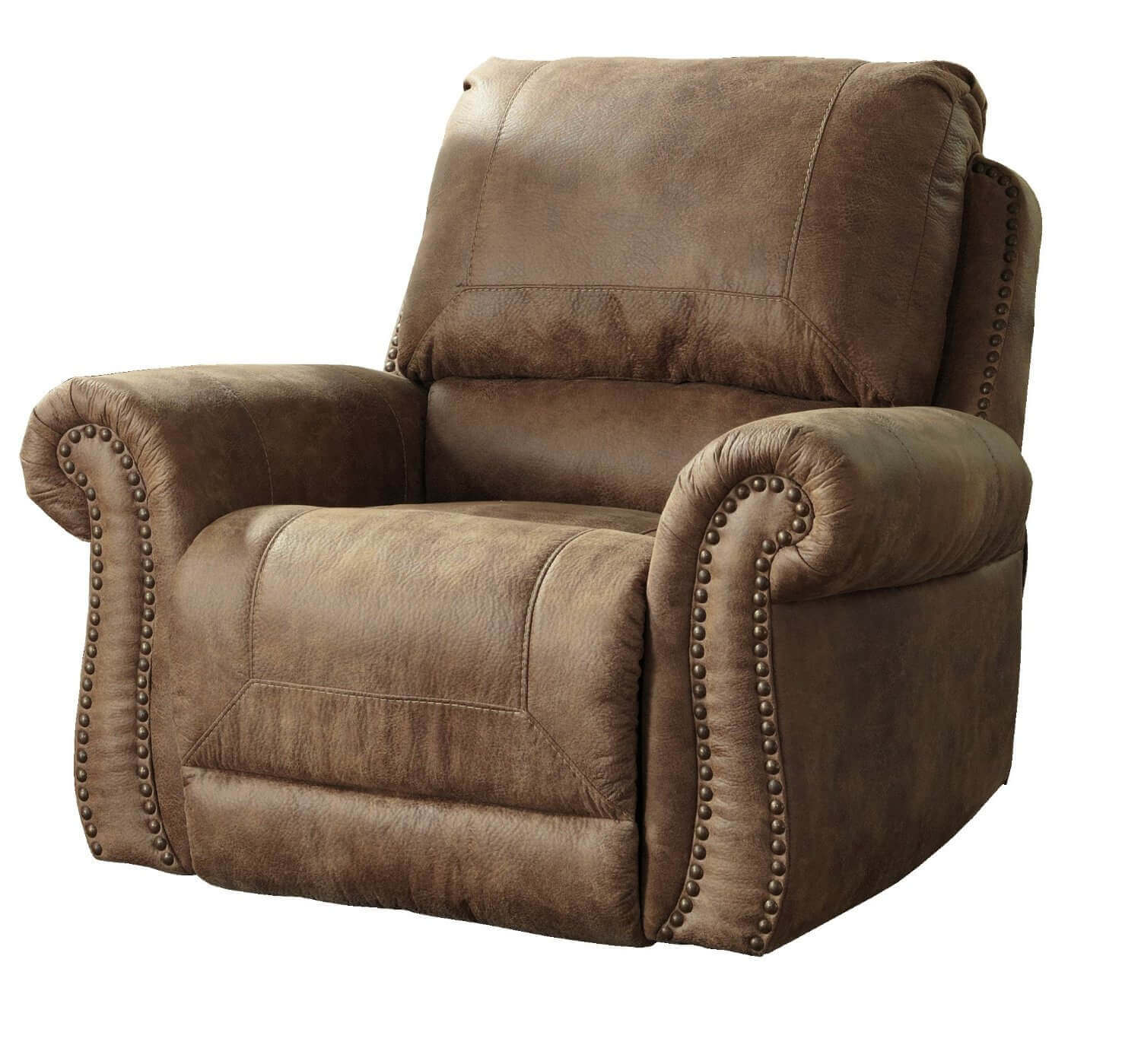 comfortable flooring modern placed recliner on comforter wooden big design recliners brown the natural back most velvet with