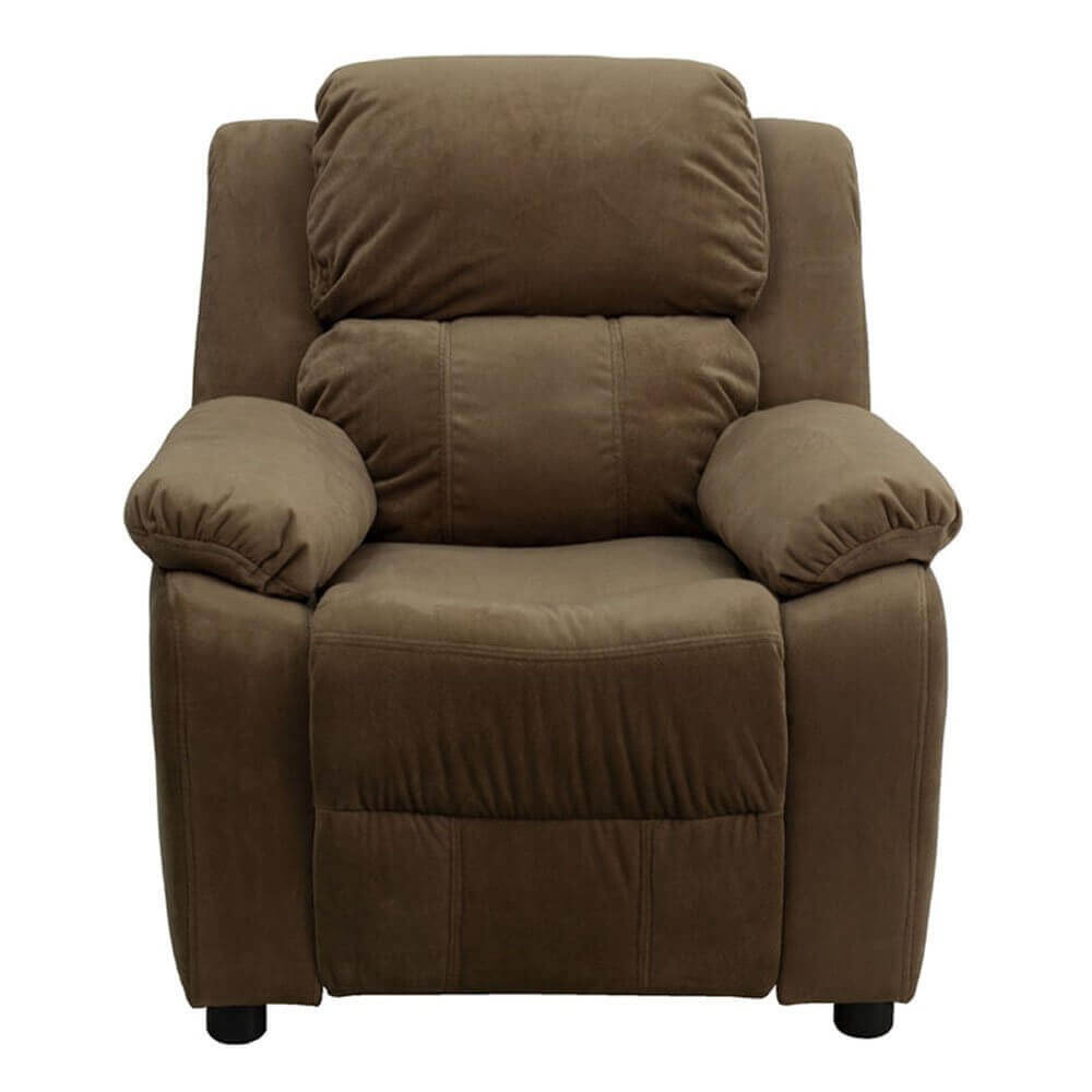 Charmant Deluxe Heavily Padded Microfiber Kids Recliner