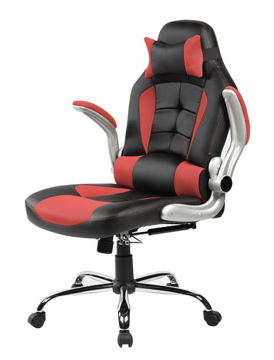 Merax High Back Ergonomic Pu Leather Racing Chair