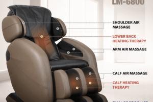 L-Track Kahuna Massage Chair Recliner