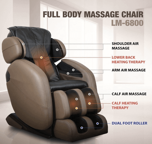 L-Track Kahuna Massage Chair Recliner