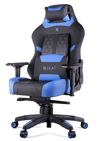 N Seat Pro600 gaming chair blue