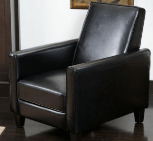 Best Selling Davis Leather Recliner Club Chair