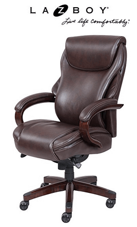 Exceptionnel  La Z Boy Hyland Executive Bonded Leather Expensive Office Chair