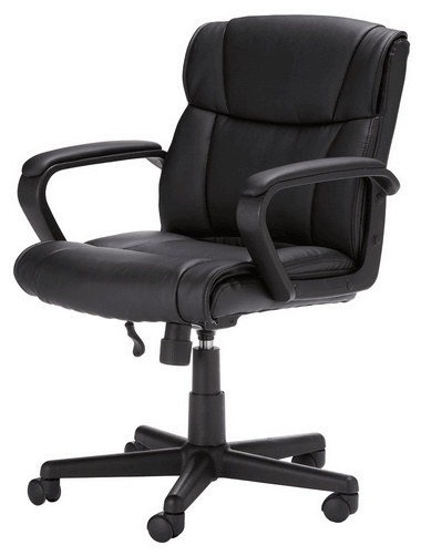 5. AmazonBasics Mid-Back Office Chair