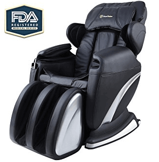 Real relax full body zero gravity shiatsu massage chair review for Gaming shiatsu massage chair