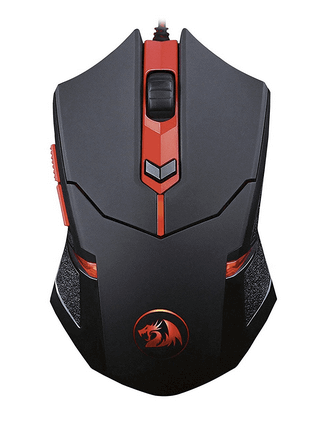 Redragon M601 Gaming Mouse wired with red led