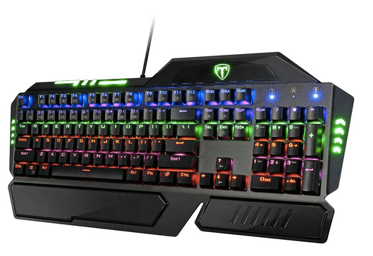 Pictek 104 Keys Anti-ghosting Backlit Mechanical Gaming  Keyboard
