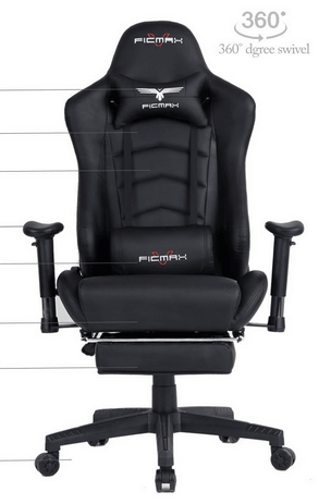 Ficmax Ergonomic Gaming Chair Review Early 2018