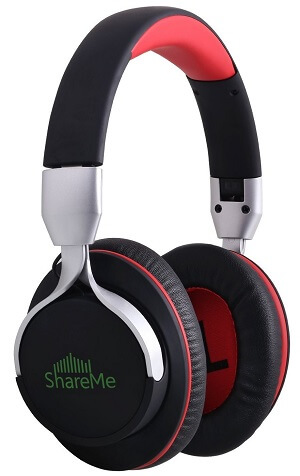 Mixcder ShareMe 7 Over Ear Headphones Bluetooth