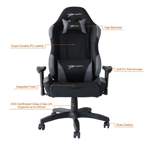 pc gaming chairs for your computer updated august 2018 top 25 chairs