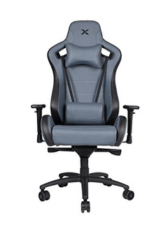 Carbon Line Charcoal Grey Sleek Design Gaming & Lifestyle Chair for Big and Tall by RapidX