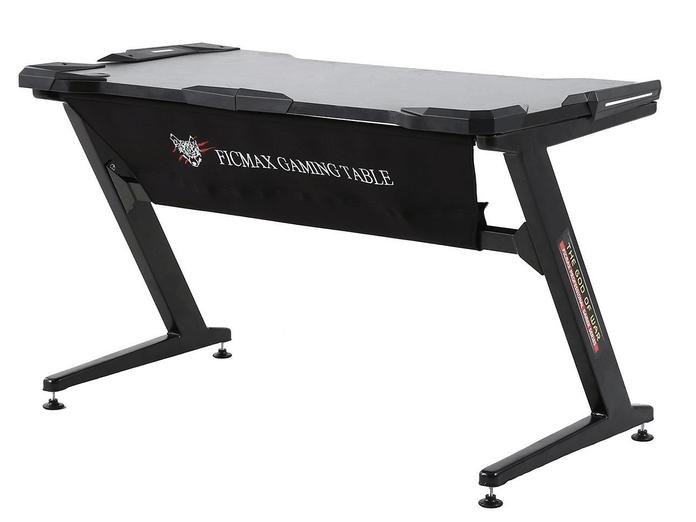Ficmax Z-Shaped Gaming PC Desk