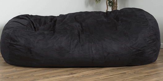David Faux Suede 8 Feet Lounger Bean Bag