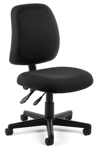 OFM Posture Series Armless Mid Back Task Chair