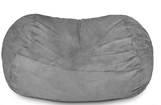 ​Lumaland Luxury 6-Foot Bean Bag Chair
