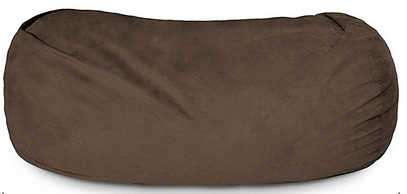 Lumaland Luxury 7 Foot Bean Bag Chair With Microsuede Cover