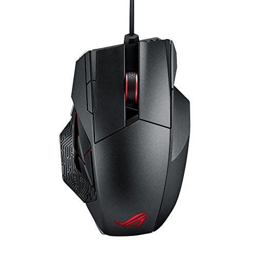 ASUS ROG Spatha RGB Wireless Wired Laser Gaming Mouse