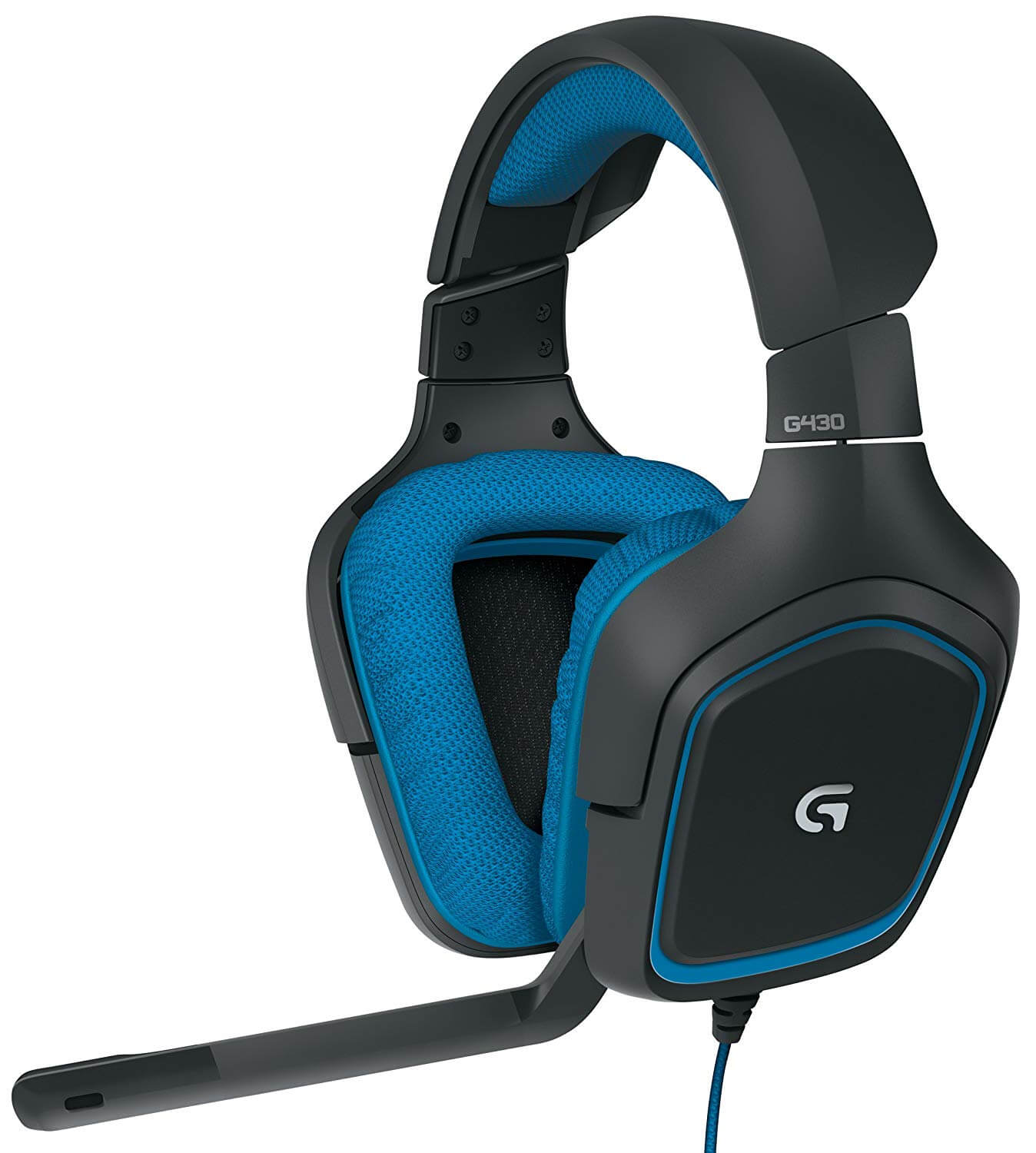 Logitech g430 DTS Headphone X and Dolby 7.1 Surround Sound Headset